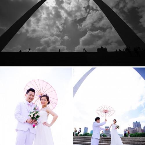 St Louis MO Wedding // Lindy + Nhiem