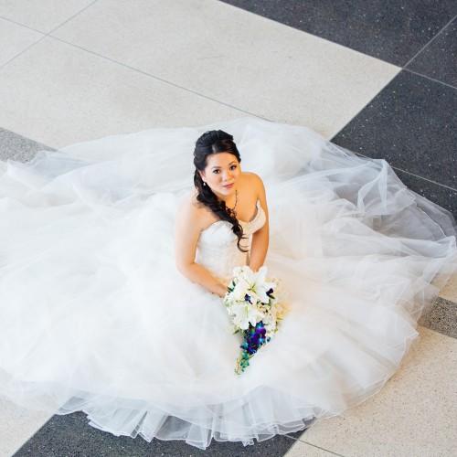 St Paul WSU Newman Center Wedding // Nguyet + Mitch